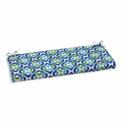 Reiser Outdoor Bench Cushion Color: Lagoon