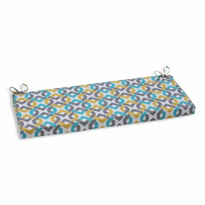 Reiser Outdoor Bench Cushion Color: Sterling