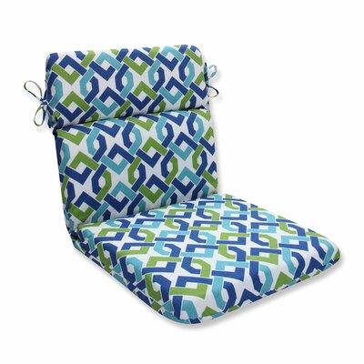 Reiser Outdoor Dining Chair Cushion Color: Lagoon