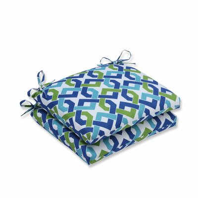 Reiser Outdoor Dining Chair Cushion Color: Lagoon