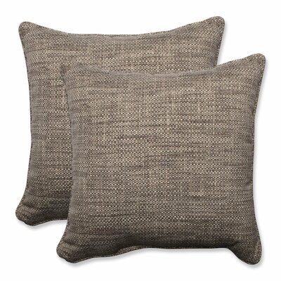 Remi Outdoor Throw Pillow Color: Patina