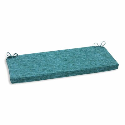 Remi Outdoor Bench Cushion Color: Lagoon