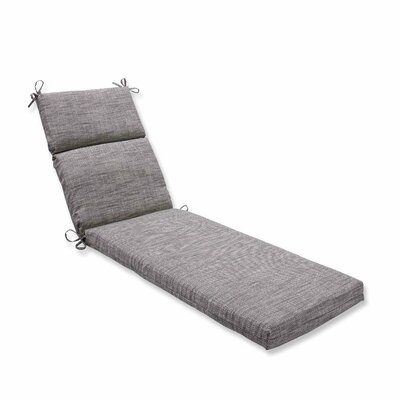 Remi Outdoor Chaise Lounge Cushion Color: Patina
