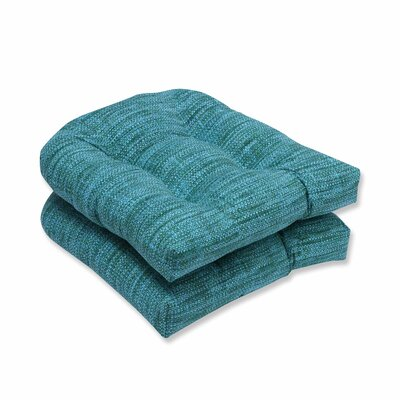 Remi Outdoor Dining Chair Cushion Color: Lagoon