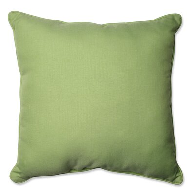 Tweed Indoor/Outdoor Floor Pillow Color: Lime