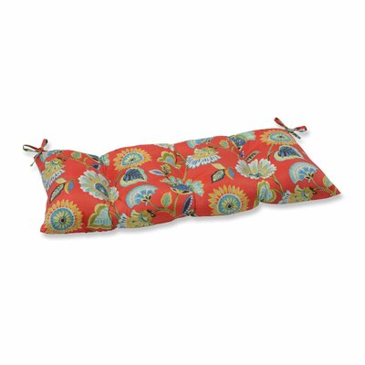 Woodcourt Outdoor Bench Cushion Color: Pompeii