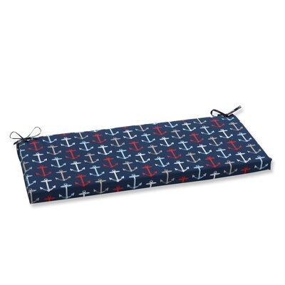 Anchor Allover Outdoor Bench Cushion