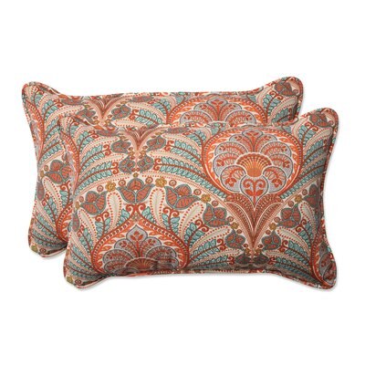 Crescent Beach Indoor/Outdoor Lumbar Pillow