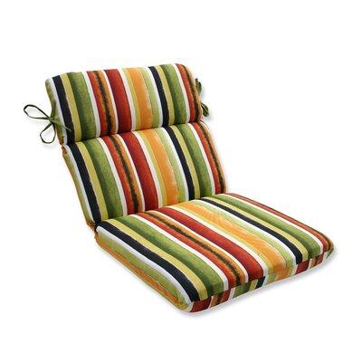 Dina Noir Outdoor Dining Chair Cushion