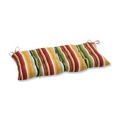 Dina Noir Outdoor Loveseat Cushion