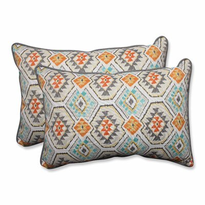 Eresha Oasis Outdoor/Indoor Throw Pillow