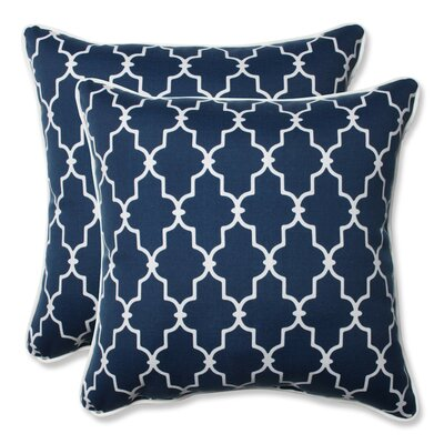 Garden Gate Outdoor/Indoor Throw Pillow