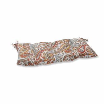 Hadia Sunset Outdoor Loveseat Cushion