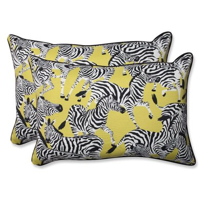 Herd Together Wasabi Indoor/Outdoor Throw Pillow Size: 16.5 H x 24.5 W
