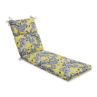 Herd Together Wasabi Outdoor Chaise Lounge Cushion