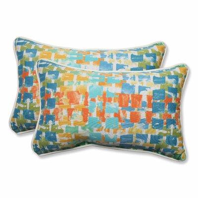 Quibble Sunsplash Indoor/Outdoor Throw Pillow