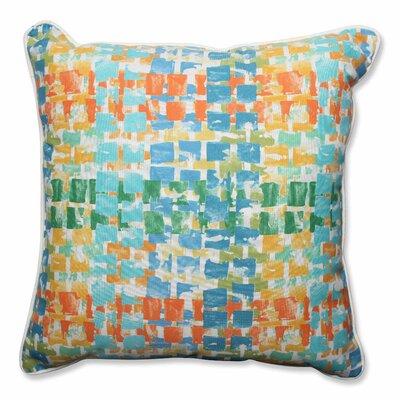 Pillow Perfect Quibble Sunsplash Indoor/Outdoor Floor Pillow