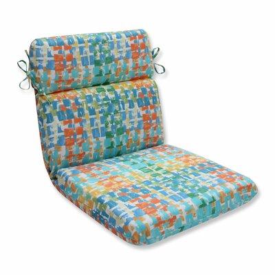 Quibble Sunsplash Outdoor Lounge Chair Cushion