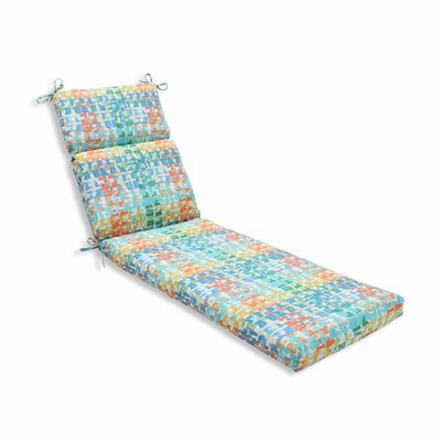 Quibble Sunsplash Outdoor Chaise Lounge Cushion