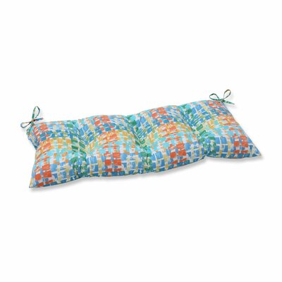 Quibble Sunsplash Outdoor Love Seat Cushion