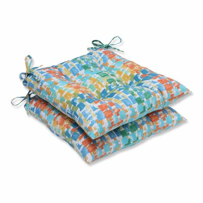 Quibble Sunsplash Outdoor Dining Chair Cushion