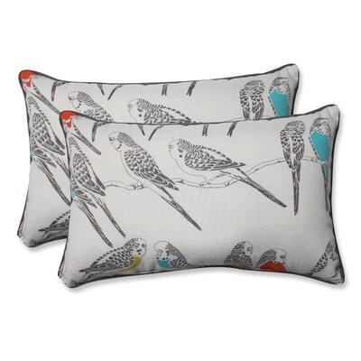 Retweet Mango Indoor/Outdoor Throw Pillow Size: 11.5 H x 18.5 W