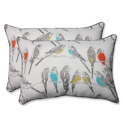 Retweet Mango Indoor/Outdoor Throw Pillow Size: 16.5 H x 24.5 W