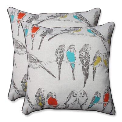 Retweet Mango Indoor/Outdoor Throw Pillow