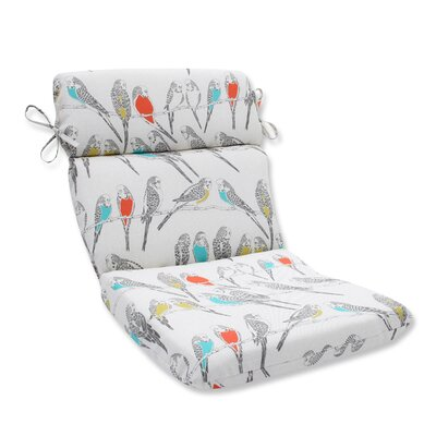 Retweet Mango Outdoor Dining Chair Cushion