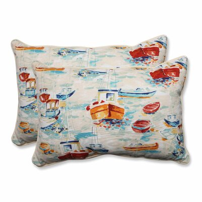 Spinnaker Bay Sailor Indoor/Outdoor Lumbar Pillow
