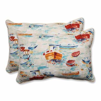 Spinnaker Bay Sailor Indoor/Outdoor Lumbar Pillow