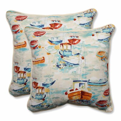 Spinnaker Bay Sailor Indoor/Outdoor Throw Pillow