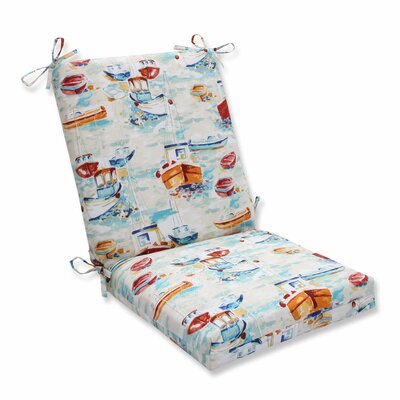 Spinnaker Bay Sailor Outdoor Dining Chair Cushion
