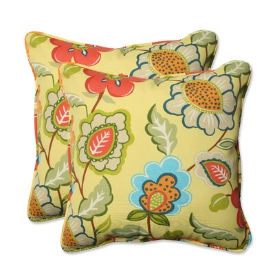 Timmo Sunshine Outdoor/Indoor Throw Pillow