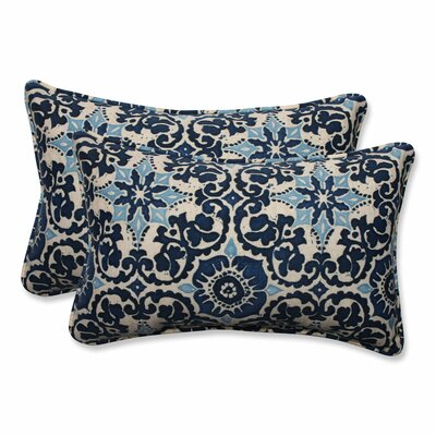 Woodblock Outdoor Lumbar Pillow Size: 11.5 H x 18.5 W