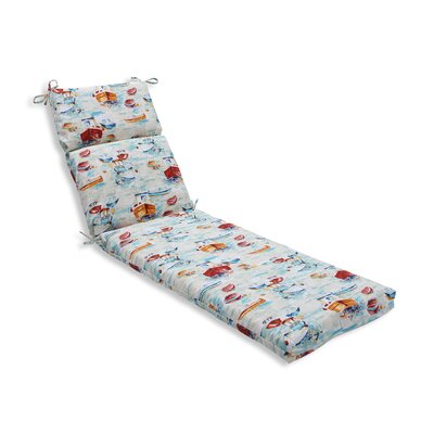 Spinnaker Bay Sailor Outdoor Chaise Lounge Cushion