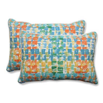 Quibble Sunsplash Indoor/Outdoor Throw Pillow