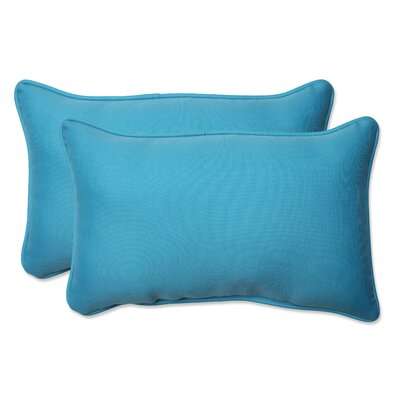 Veranda Indoor/Outdoor Lumbar Pillow Size: 11.5 H x 18.5 W x 5 D