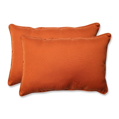 Cinnabar Corded Indoor/Outdoor Lumbar Pillow Size: 5 H x 16.5 W x 24.5 D