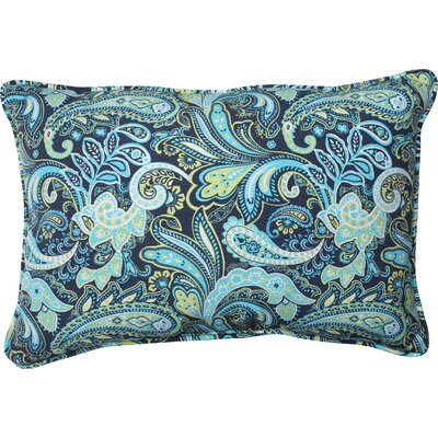 Pretty Indoor/Outdoor Throw Pillow Size: 11.5 x 18.5
