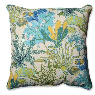 Splish Splash Marina Outdoor/Indoor Throw Pillow