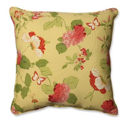 Risa Lemonade Outdoor/Indoor Throw Pillow