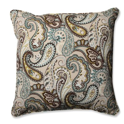 Tamara Paisley Quartz Outdoor/Indoor Throw Pillow