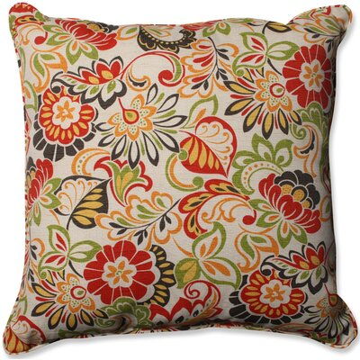 Zoe Citrus Floor Outdoor/Indoor Throw Pillow
