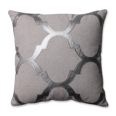 Glitz Throw Pillow Color: Silver