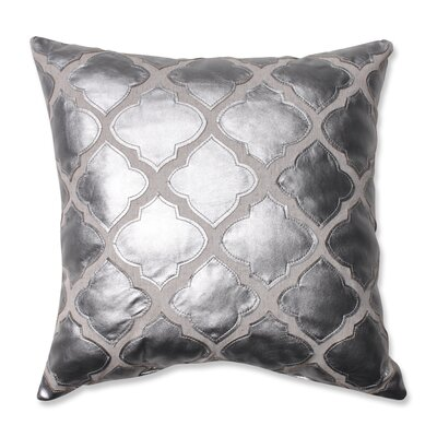 Yvonne Throw Pillow Color: Silver