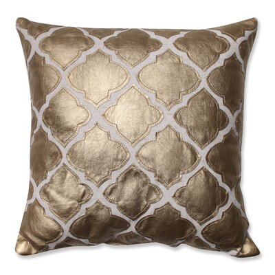 Yvonne Throw Pillow Color: Gold