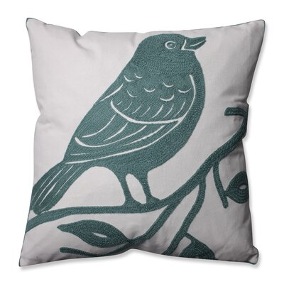 Bluebird Throw Pillow Color: Blue