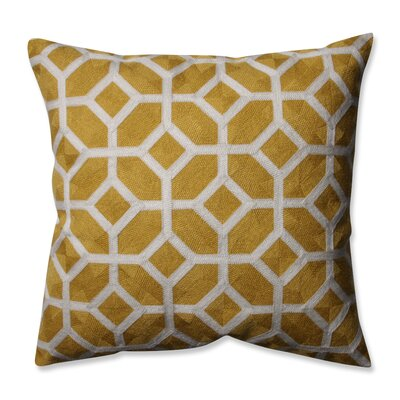 Throw Pillow Color: Citron