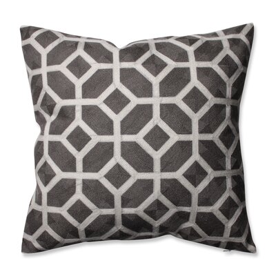 Throw Pillow Color: Iron